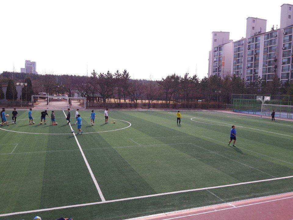 2018학년도 1학기 방과후학교 축구반 활동2