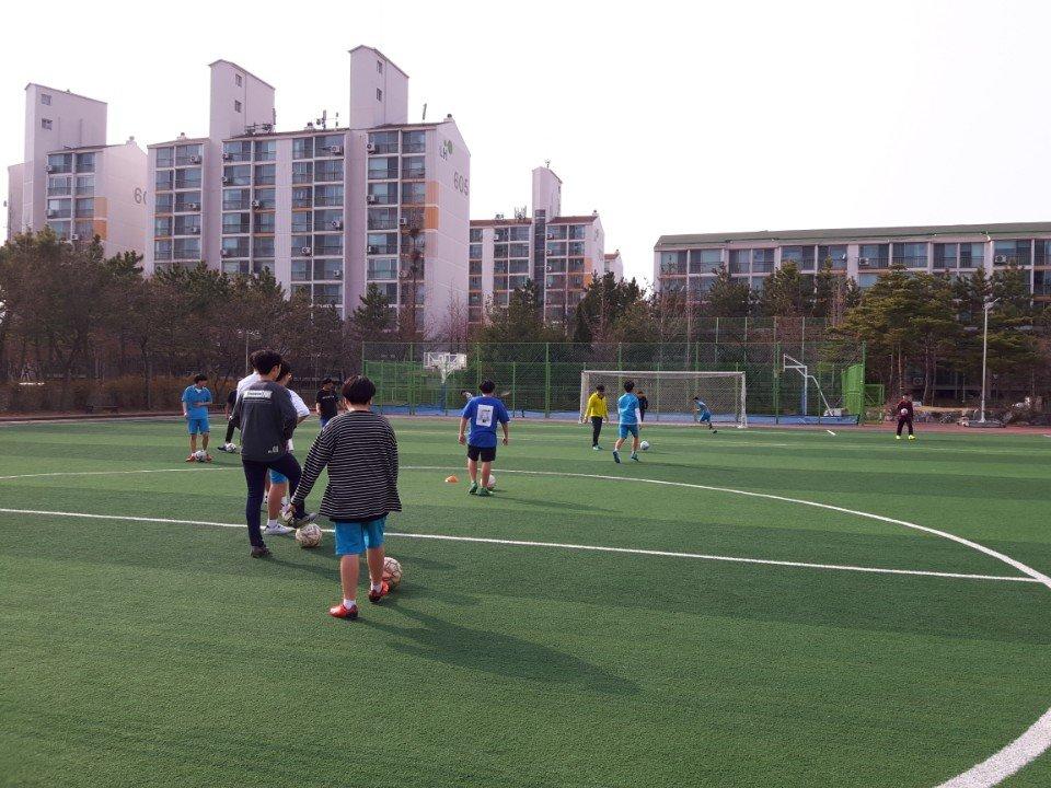 2018학년도 1학기 방과후학교 축구반 활동1