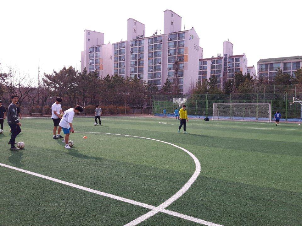 2018학년도 1학기 방과후학교 축구반 활동