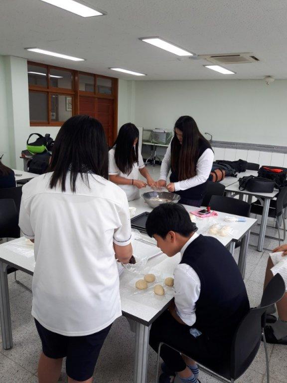 2018학년도 1학기 방과후학교 제과제빵반 활동2